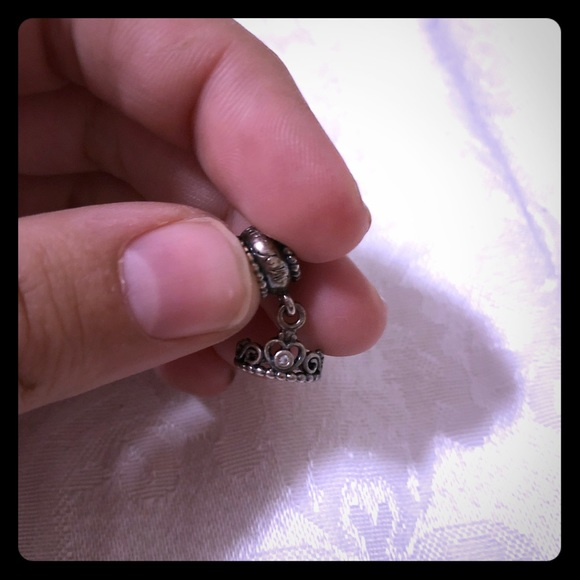 48c5c6b26 Pandora My Princess Tiara Dangle Charm. M_5a79ded5daa8f69b93ba47f4